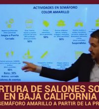 Reapertura de Salones Sociales en Baja California