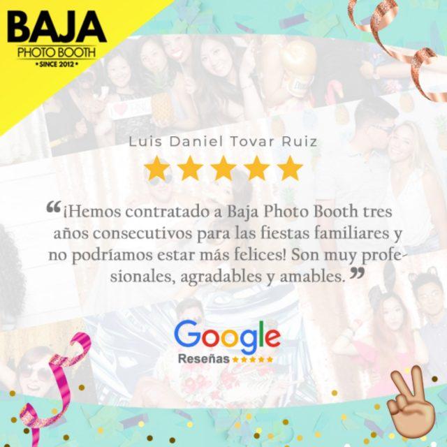 ‼️Muchas gracias por su preferencia, nos motiva leer sus reseñas 😍⭐️⭐️⭐️⭐️  #photobooth #tijuana #photos